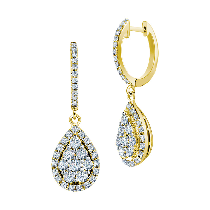 Ming Seng diamond earrings