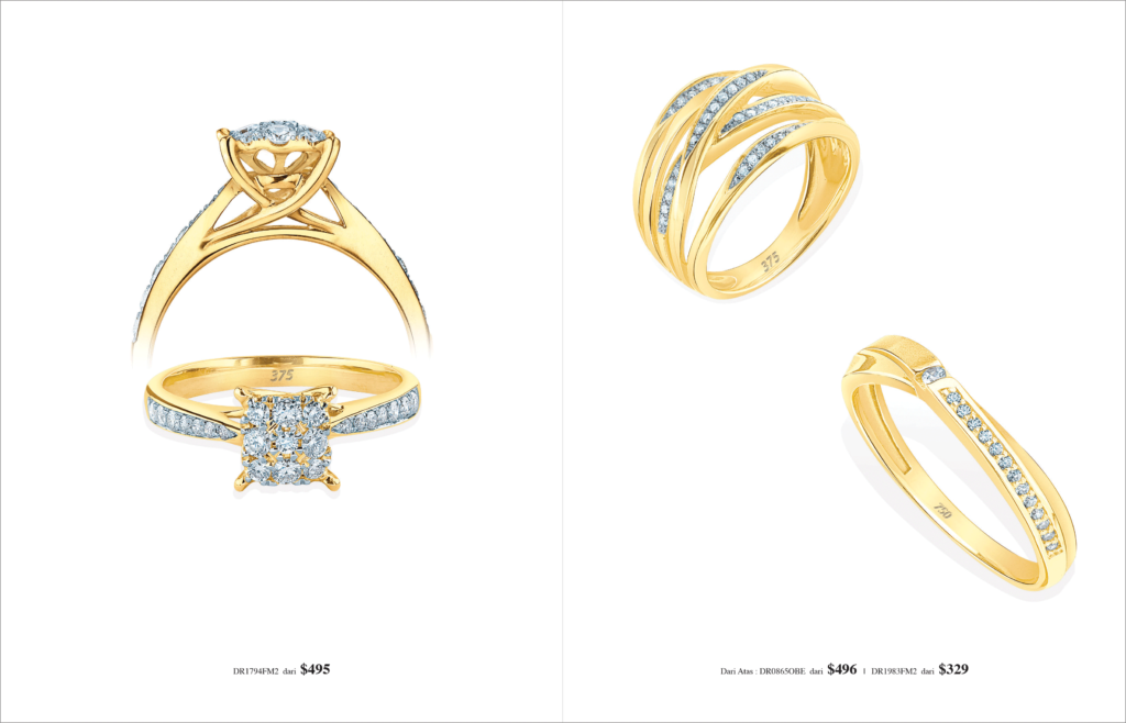 Ming Seng diamond rings